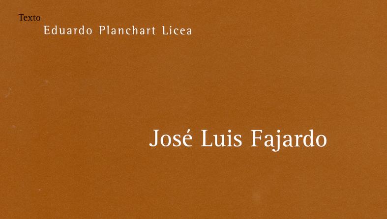 EDUARDO PLANCHART
